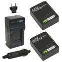 Wasabi Power Kit for GoPro HERO 3 Cameras