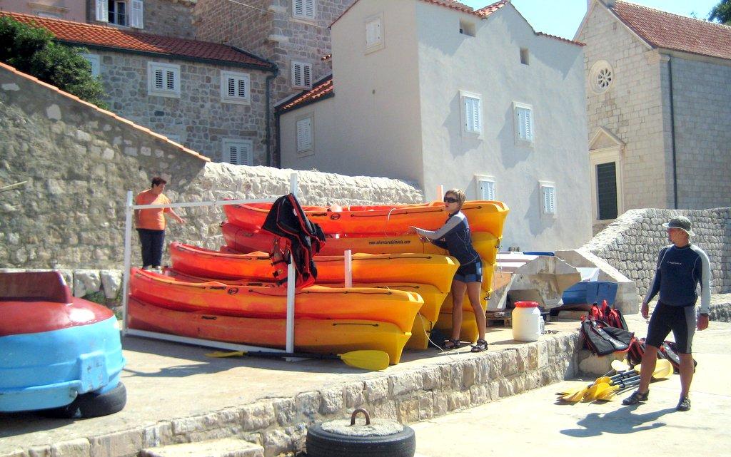 Sea Kayaking in Dubrovnik