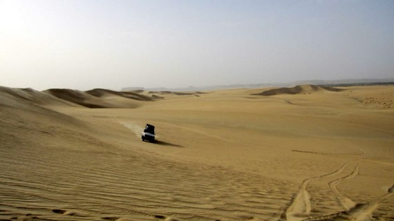 A Scary Day in the Sahara Desert