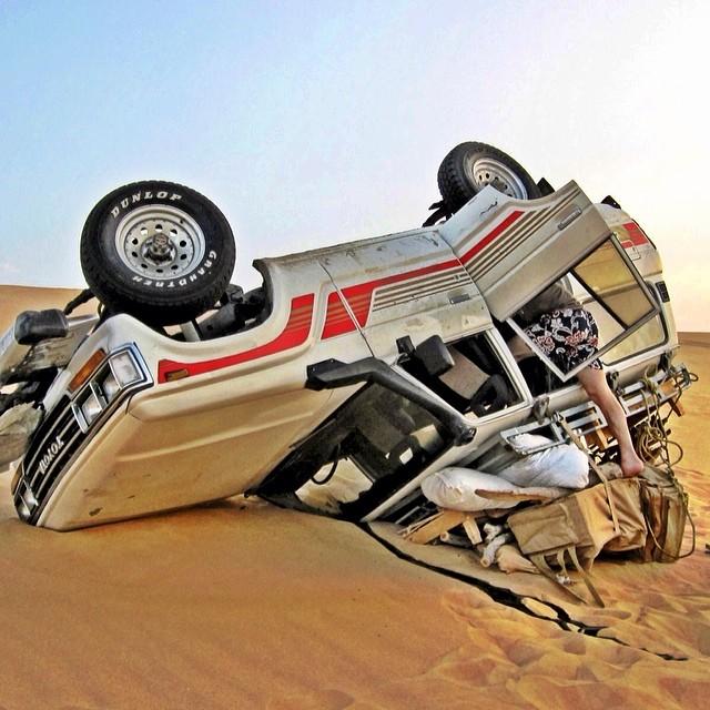 Sahara Desert Rollover