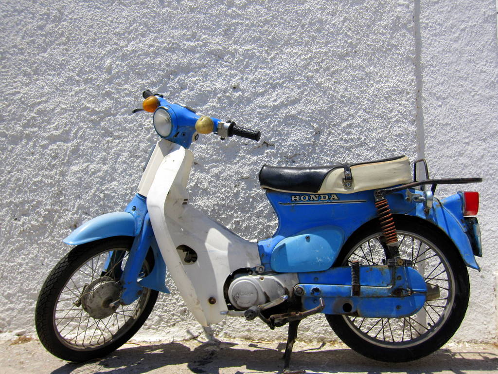 Greek color scheme Scooters