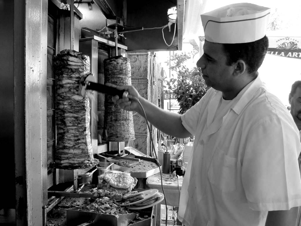 Gyros for sale Athens Greece