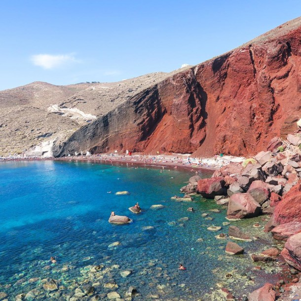 Red Beach - Akrotiri Santorini