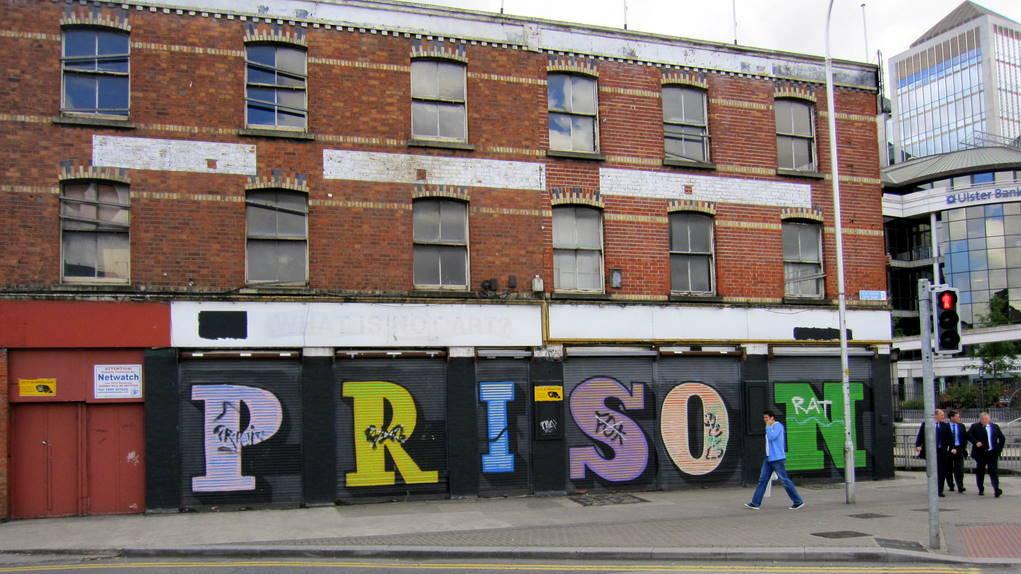 Prison in the city Dublin, Ireland