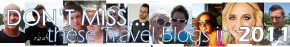 Best Travel Blogs 2011