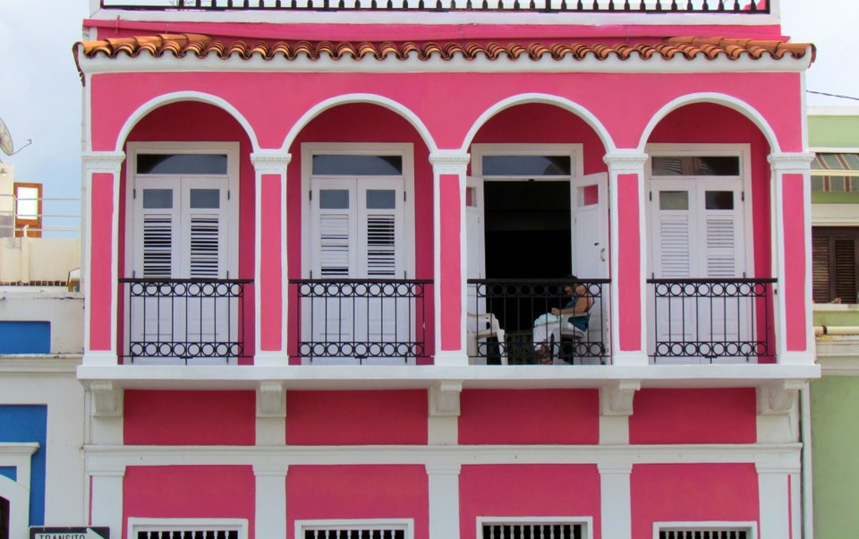 The Pink House - Old San Juan, Puerto Rico