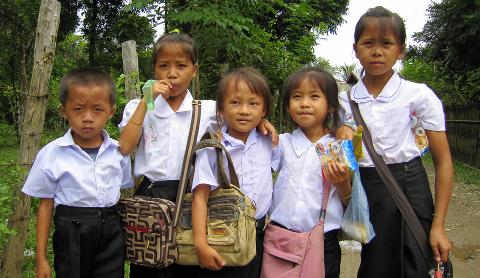 Laos School Children