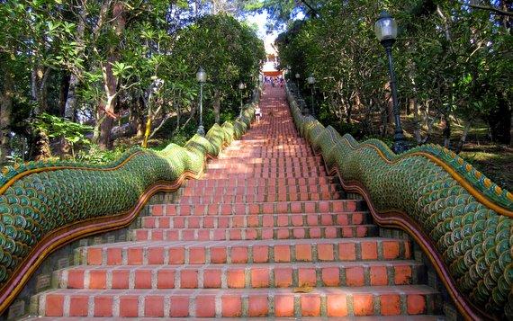 Stairs to Doi Suthep