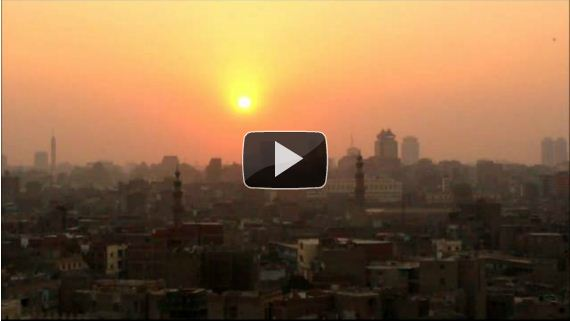 Timelapse Video of an Egyptian Sunset