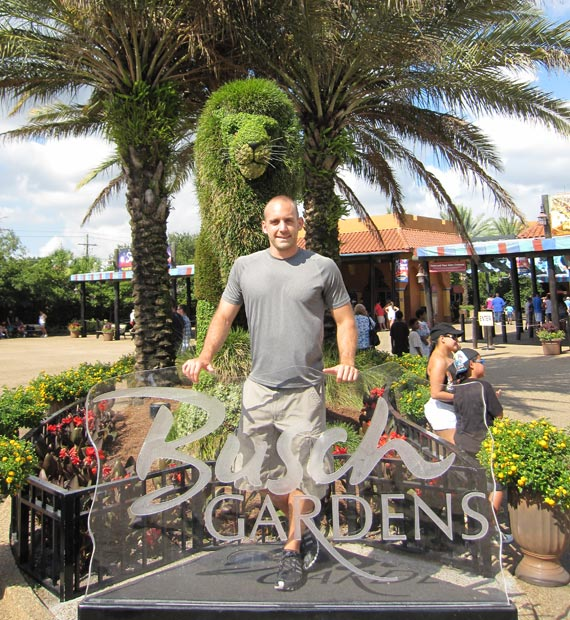 Review Riding The Roller Coasters At Busch Gardens Tampa