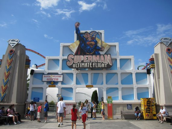 Superman Six Flags Great Adventure