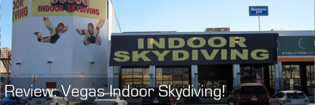 Review: Flying with Vegas Indoor Skydiving!