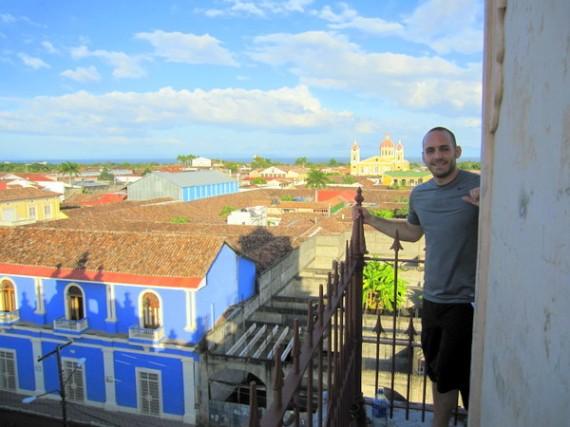 Hanging in Granada, Nicaragua