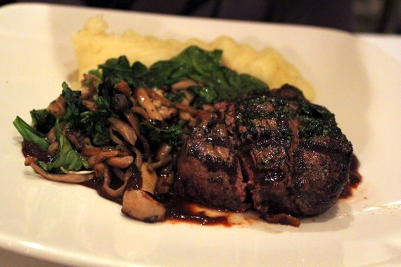 Grilled Angus Filet Mignon