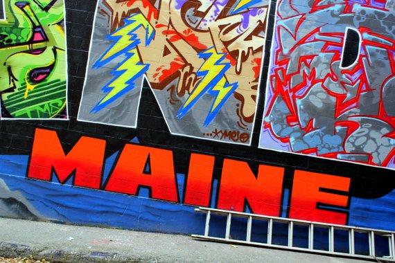 Portland, Maine Street Art Mural