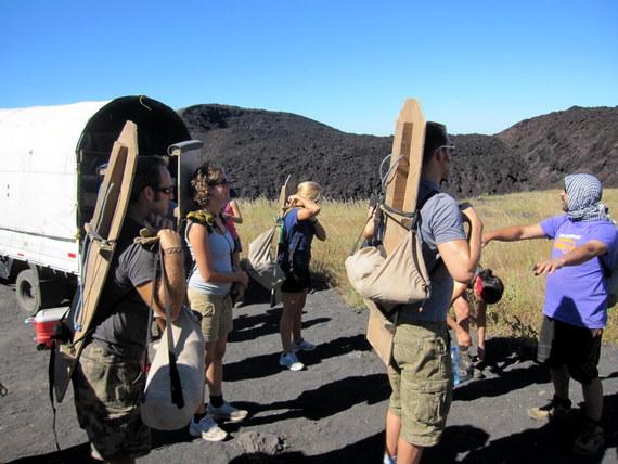 Quetzaltrekkers Volcano Boarding
