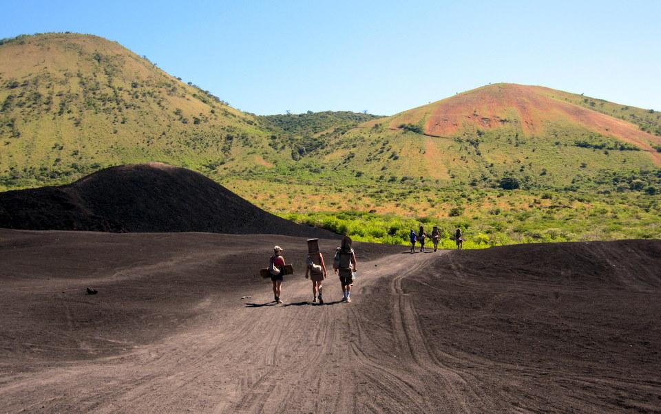 Volcano Cerro Negro in Photos