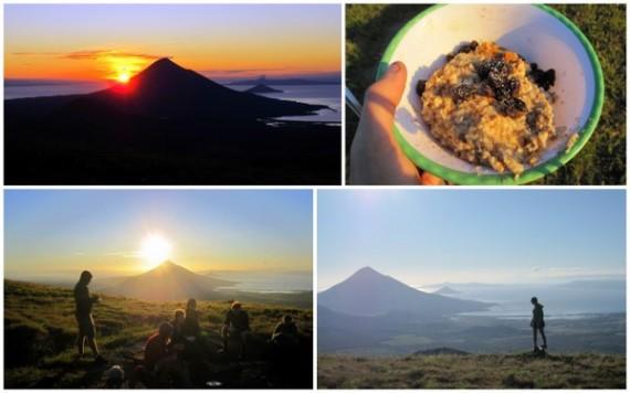 Sunrise Volcano El Hoyo