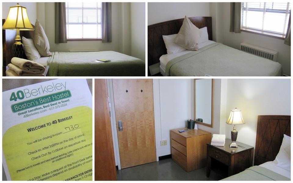 Review 40 Berkeley Hostel Boston Massachusetts