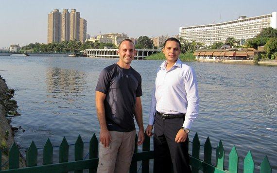 Mohammed and I - Cairo, Egypt