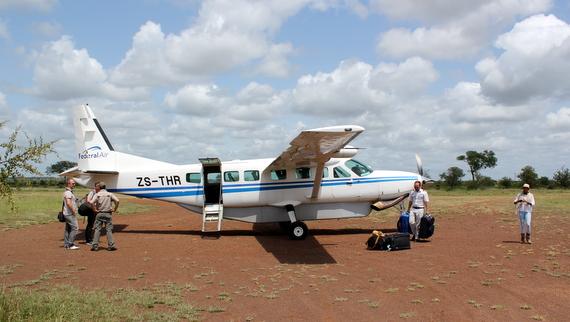 Singita Private Airstrip - Kruger National Park