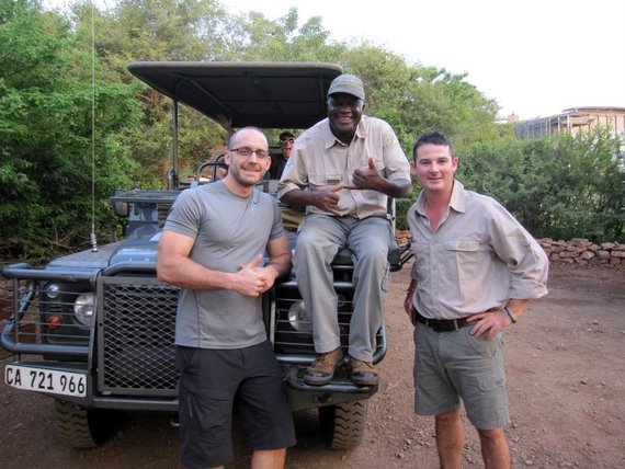 Exon, Brian and I - Kruger National Park