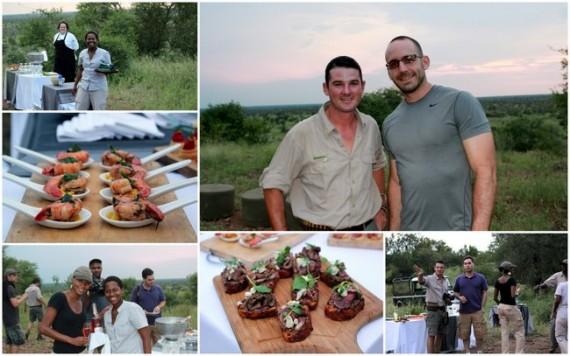 Champagne Toast at Sunset - Kruger National Park