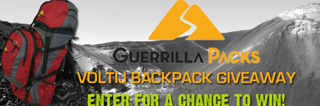 Guerilla Packs Voltij Backpack Giveaway!
