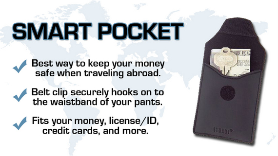 Smart Pocket Travel Wallet