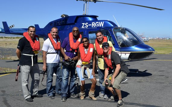 Flying High with Cape Town Helicopter Tours