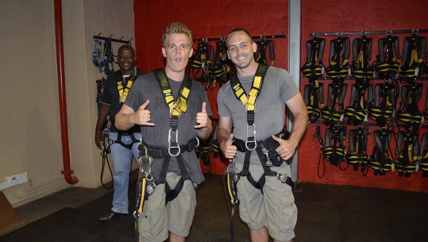 Big Rush Urban Adrenaline Swing - Durban, South Africa