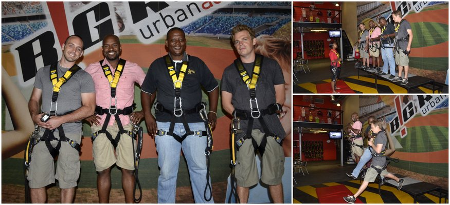 Big Rush Urban Adrenaline Swing - Durban, South Africa
