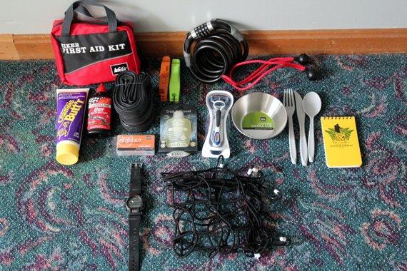 Pacific Coast Bike Tour - Packing