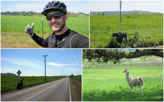 Day 3 - Centralia to Longview WA