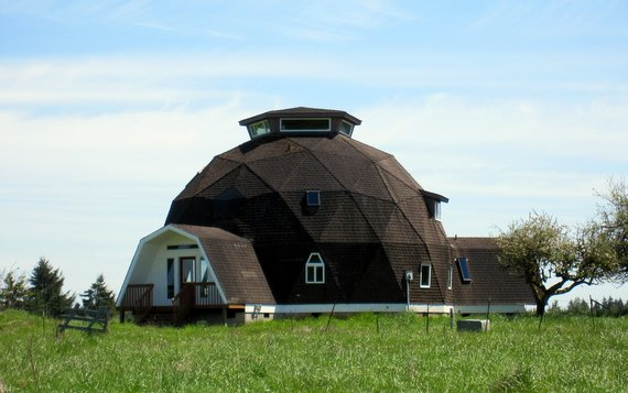 Dome shaped home