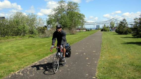 Riding from Astoria to Fort Stevens