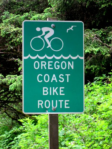 Rt. 101 Oregon Coast Bike Route