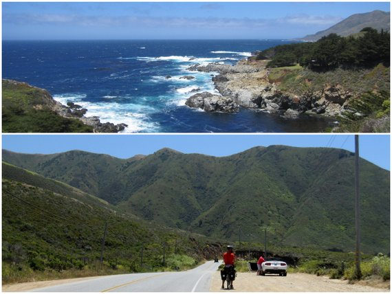 Cycling Big Sur