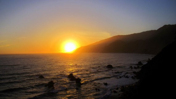 Big Sur Sunset - Kirk Creek Campground