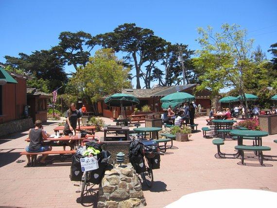 Restaurant in Big Sur