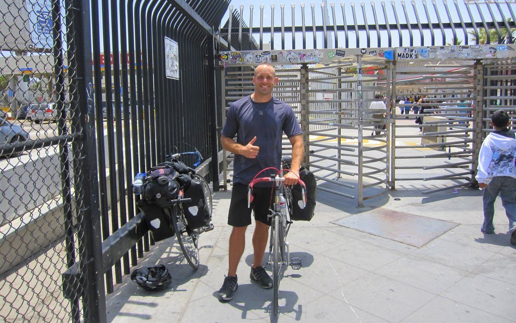 Border of Mexico Bike Tour Complete