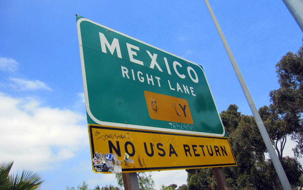 Border of Mexico