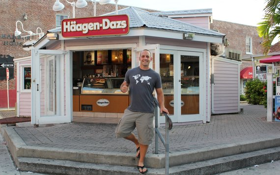Haagen-Dazs in Key West