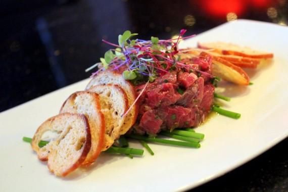 JB's Steak Tartare at RED