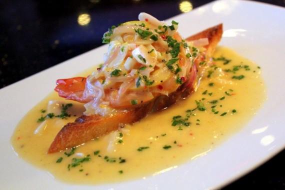 Lemon Garlic Shrimp at RED Steakhouse