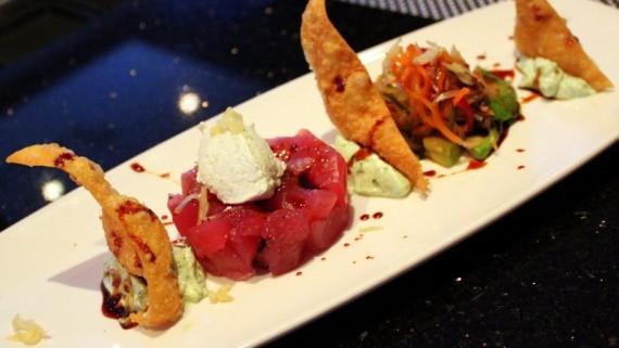 Tuna Nachos at RED Steakhouse
