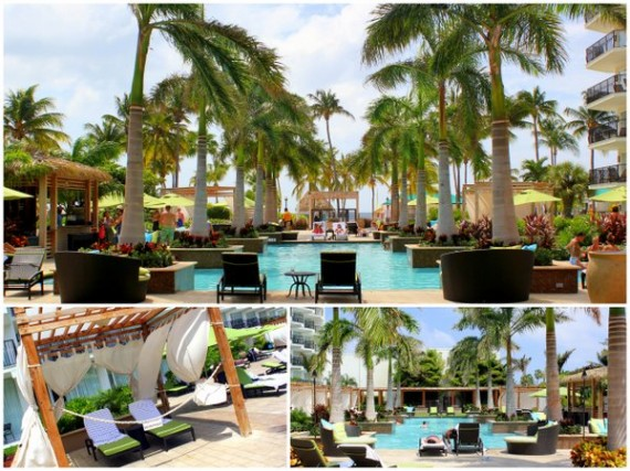 H2Oasis Pool at the Aruba Marriott Resort & Stellaris Casino