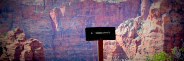 [VIDEO] – Hiking Hidden Canyon in Zion National Park