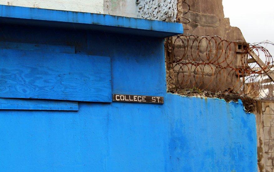 College Street St Kitts