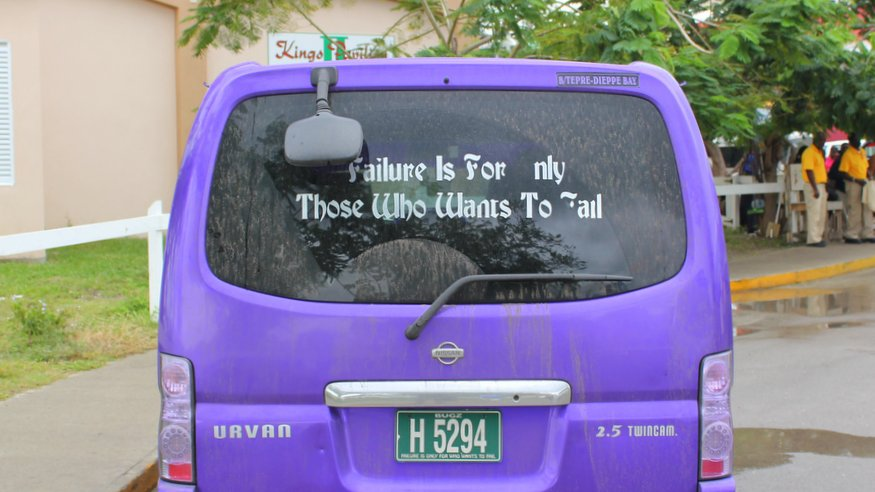 Failure Quote St. Kitts